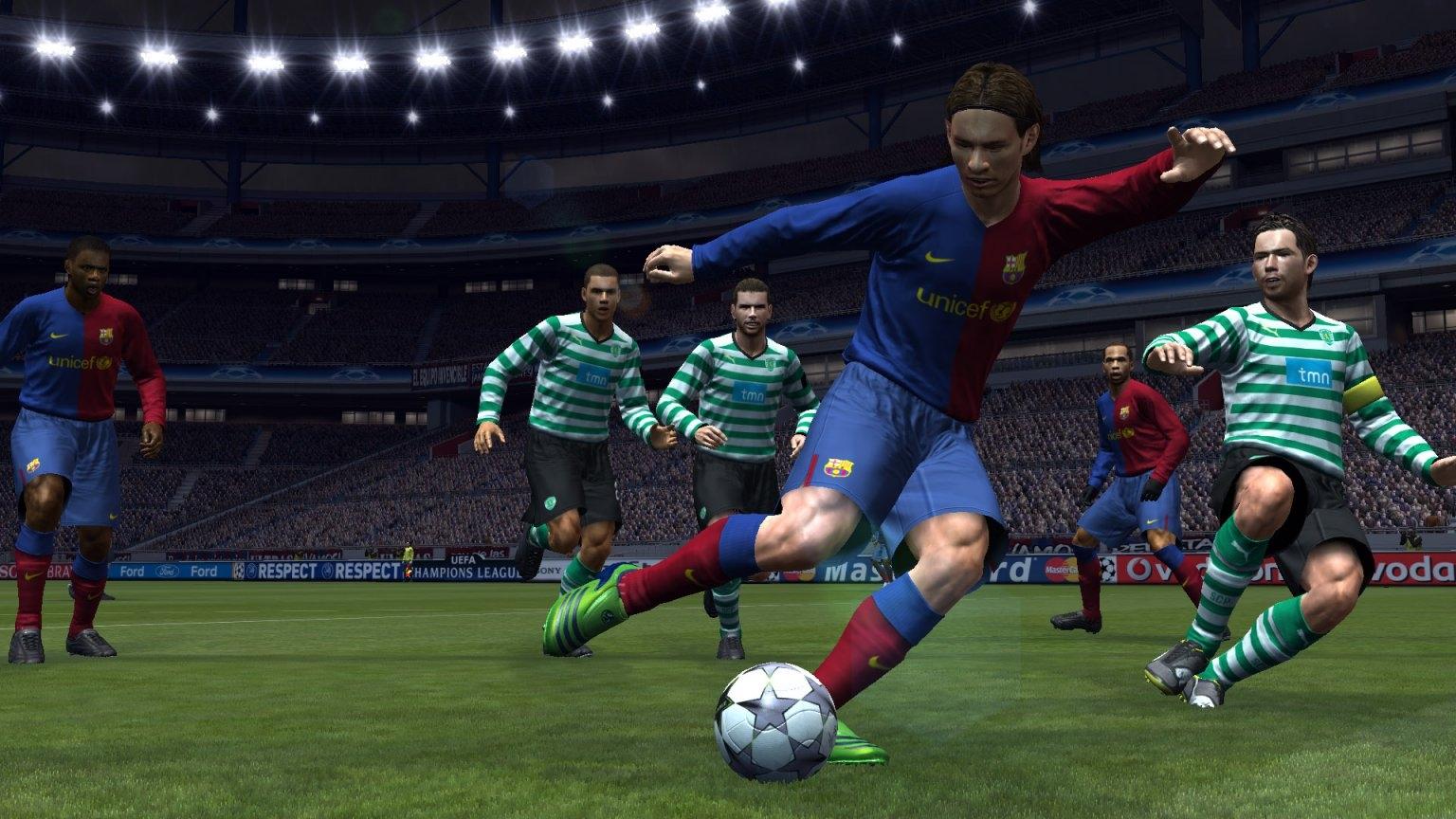 Pro Evolution Soccer 5 (2005, PS2) O realismo começou a tomar conta ...