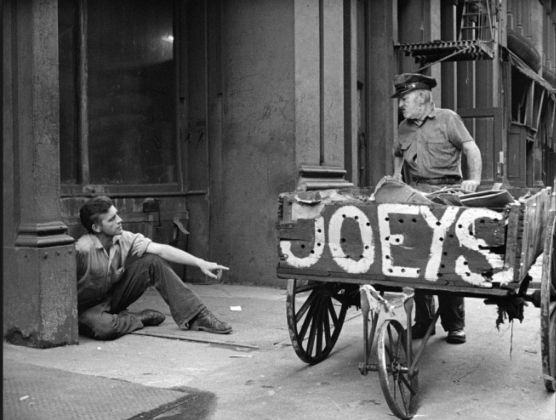 jeremiah s vanishing new york homeless reappearing vanishing anyway here s a selection from kerouac s essay in which he focuses on the old bowery