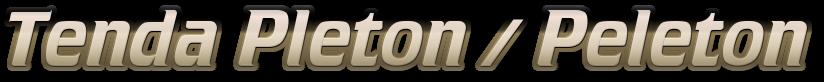 Tenda Pleton / Peleton