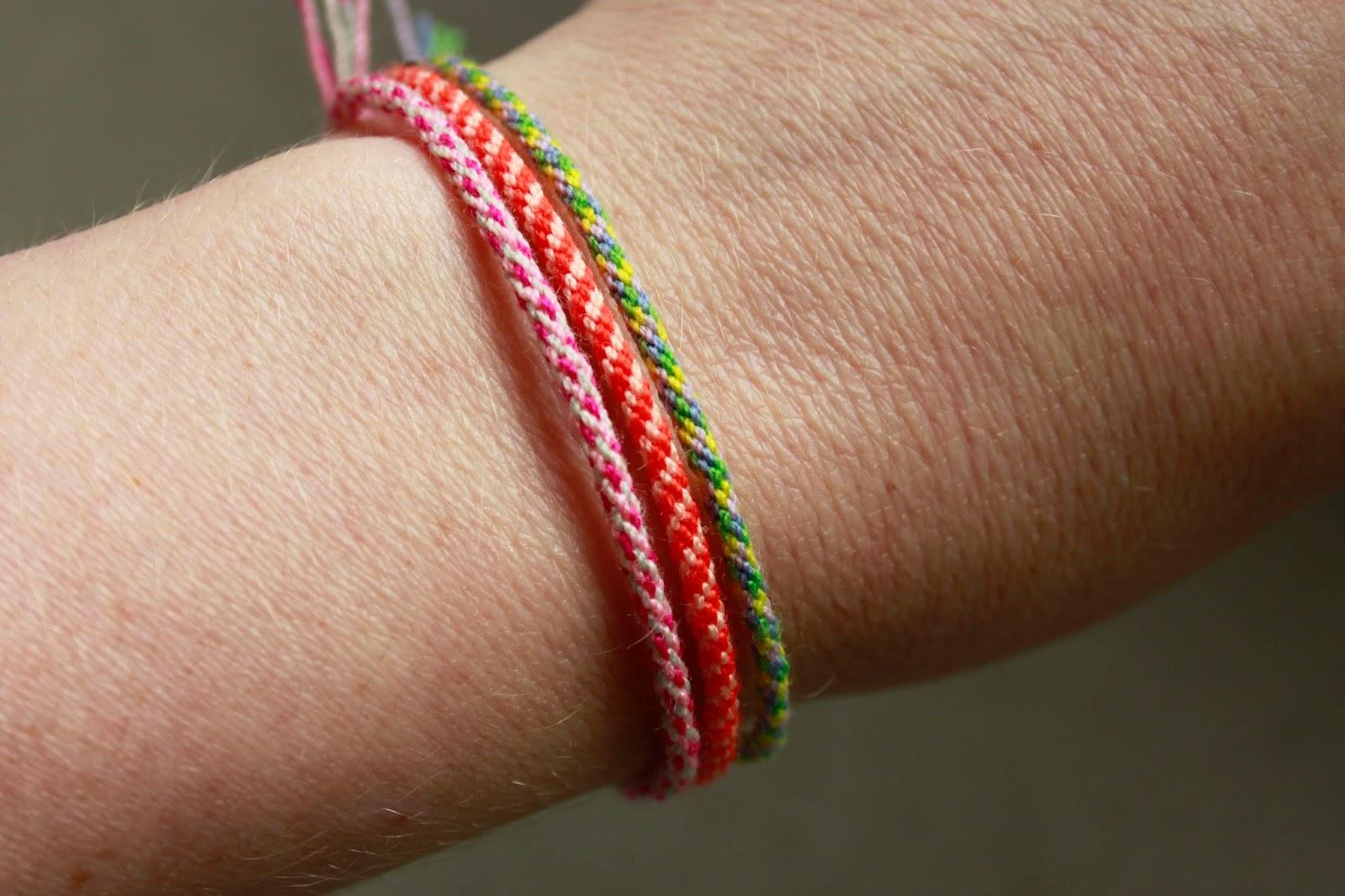 diy smukke knyttede armband