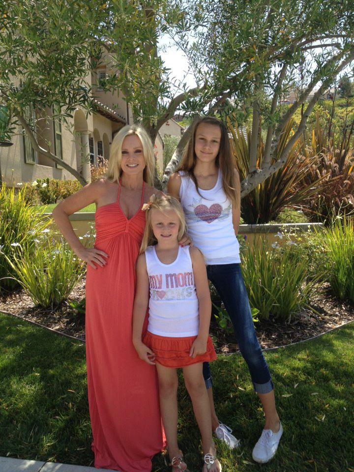 Tamra Barney Of Real Housewives Of Orange County & Her Daughters