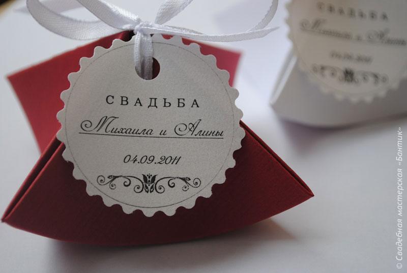 Ответные подарки гостям на свадьбе 24