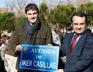 Iker Casillas tiene su propia avenida en España