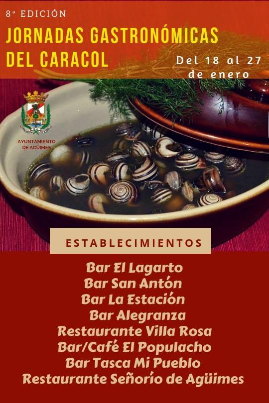 6ª Jornadas Gastronómicas del Caracol
