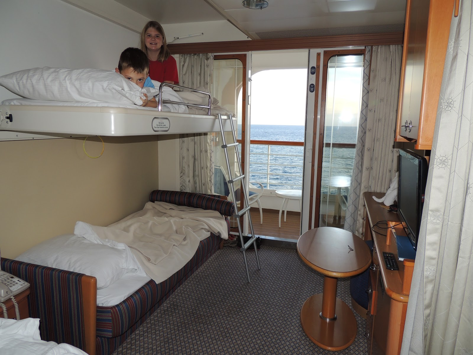 Ship Style Bunk Beds