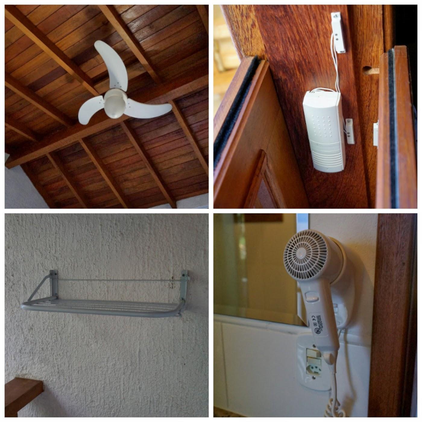 detalhes do apartamento da Pousada Praia do Portinho - Ilhabela