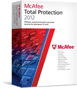 of McAfee Total Protection 2009 free 90 days trial for users. McAfee ...