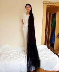 Foto Model Rambut Terpanjang Di Dunia