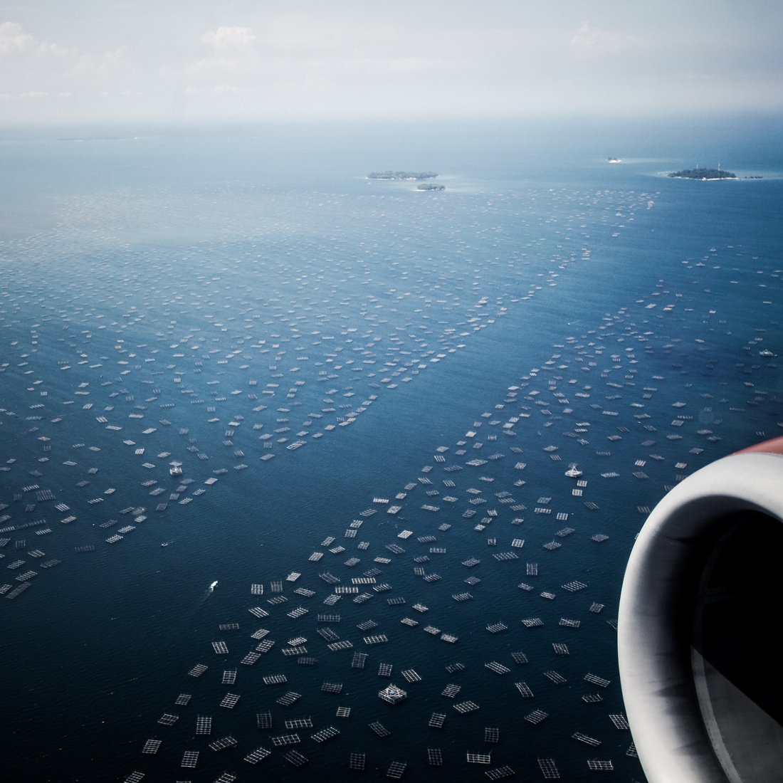 Java sea above java sea