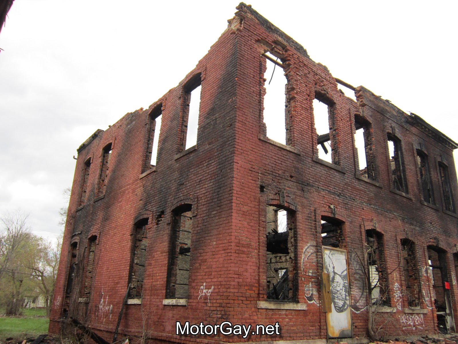 MotorGay- A Gay Detroit Blog: Historic loss on Fort St, Detroit
