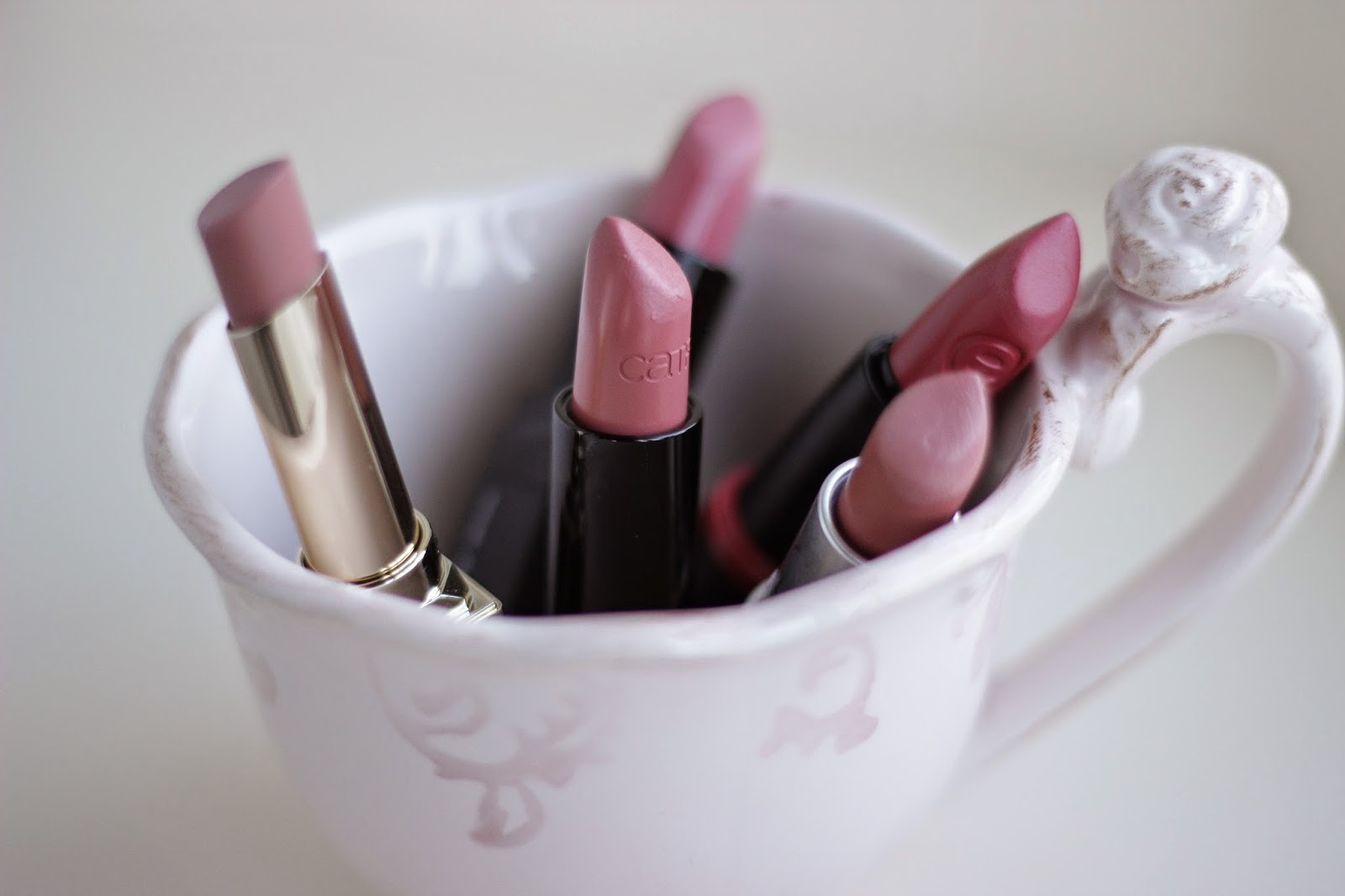 favoriete nude roze lipsticks