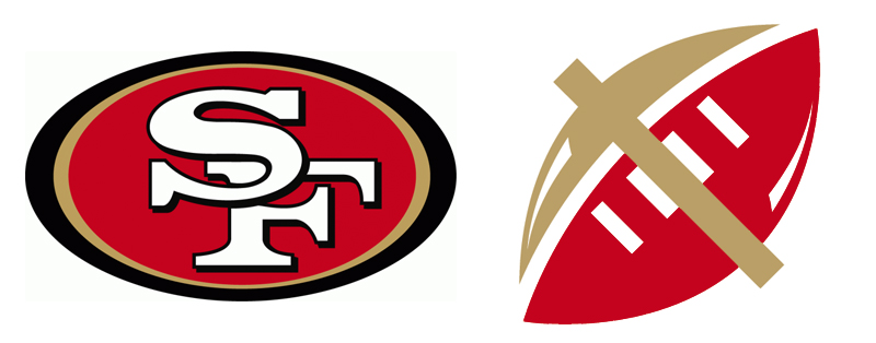 Go Back gt Gallery For 49ers Logo Font