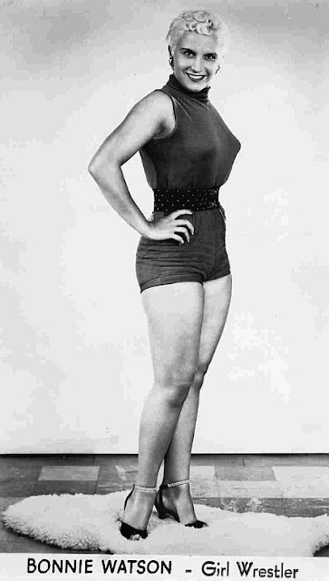 Bonnie Watson, female wrestling, ladies pro wrestling, beautiful ladies of wrestling