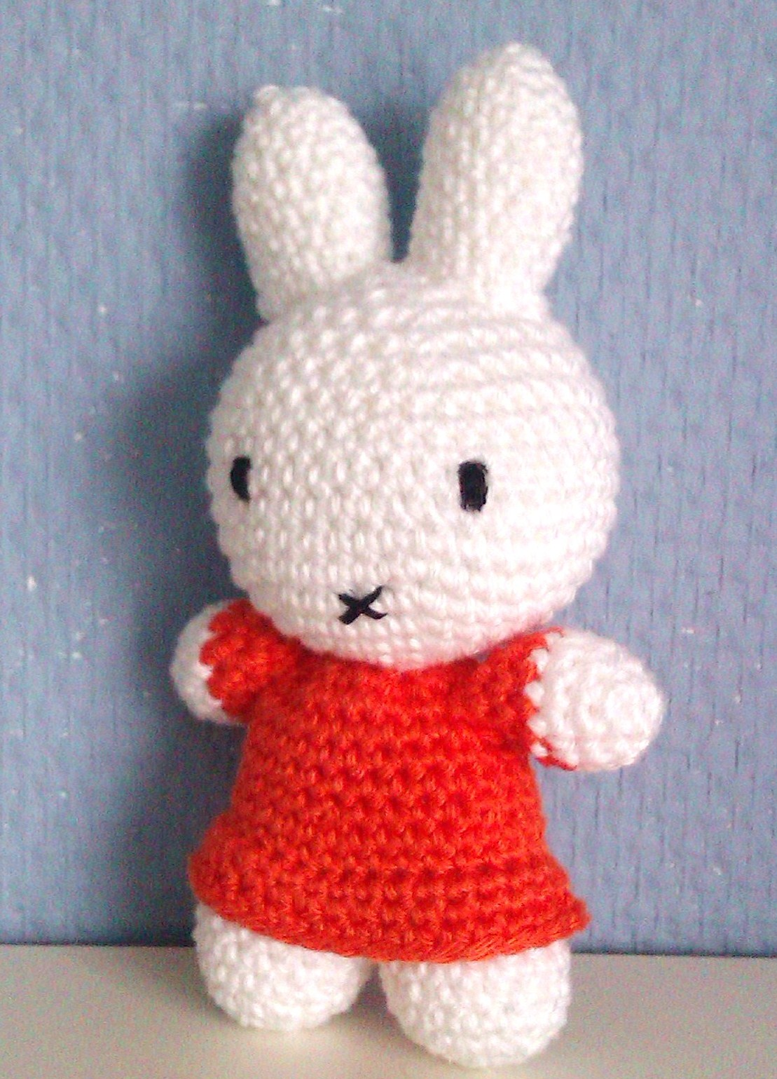 Miffy Amigurumi Crochet Pattern Free : Haakpatroon Nijntje