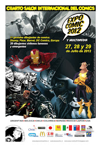 Expocomics y multimedia 2012