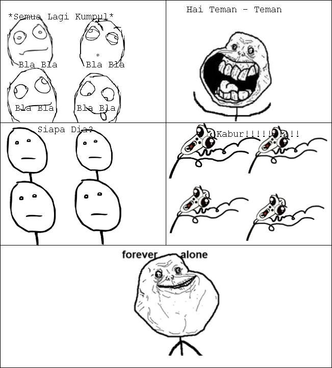 FA(Forever Alone) - Meme & Rage Comic Indonesia™
