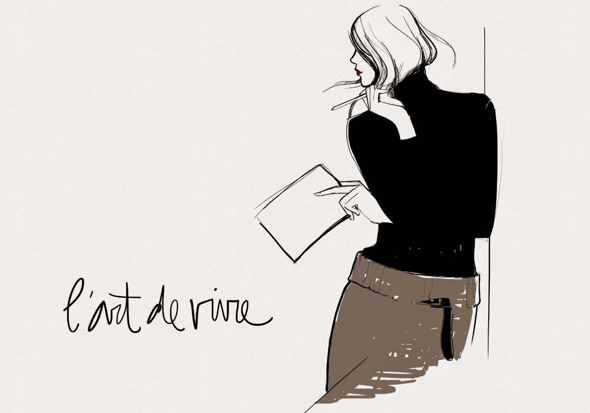 Garance doré blogueuse affiche dessin