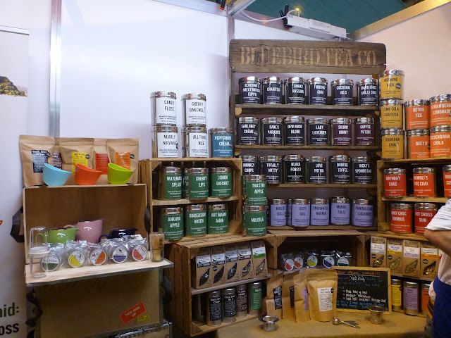 Bluebird tea stand at BBC Good Food Show