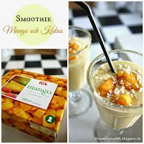Smoothie med mango och kokos