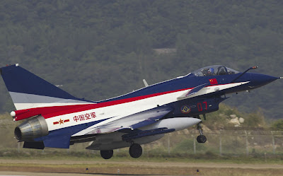 China's PLAAF August 1st  Aerobatic Team  Zhuhai Air Show 2012