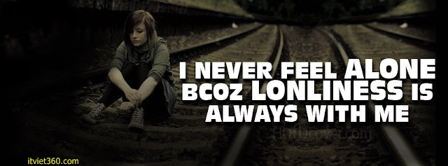Ảnh bìa Facebook cô đơn, buồn - Alone Cover timeline FB, cô gái ngồi buồn, hot girl ngồi khóc