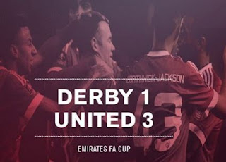 derby county vs man united 1-3