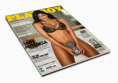Revista Playboy – Gaby Fontenelle – Abril de 2014