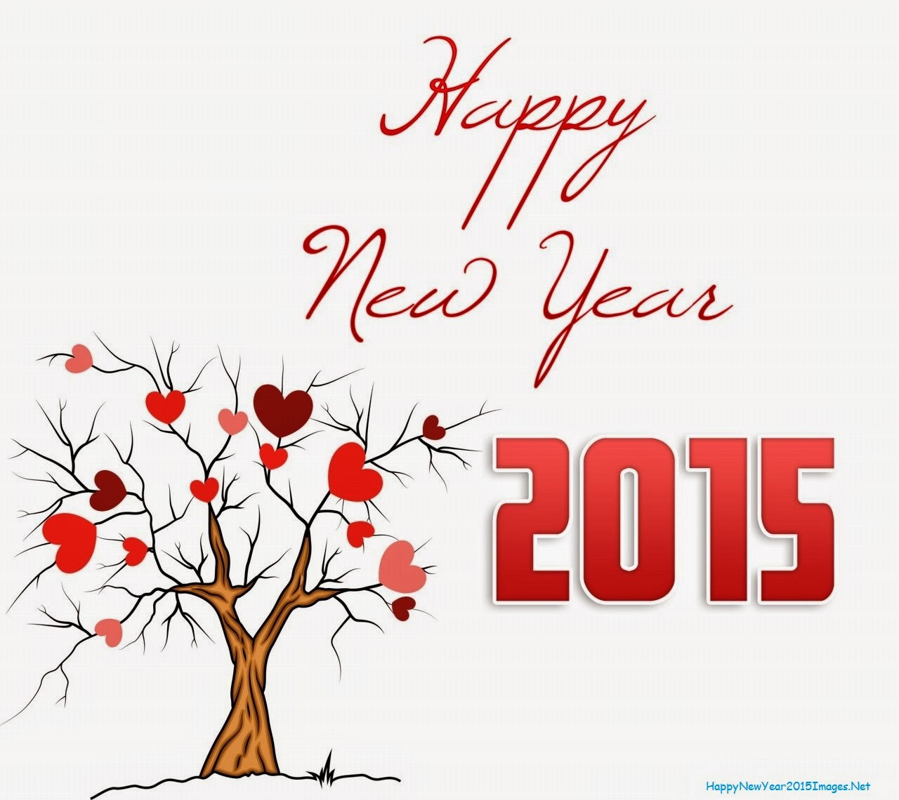 happynewyear2015withtreeandhearts