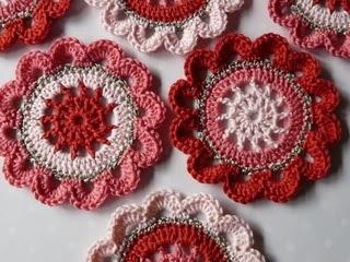 Flores en Crochet Varios Patrones Paso a Paso