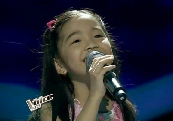 Watch Darlene Vibares performed  'Louder' on Upbeat Song Round of The Voice Kids PH Finale