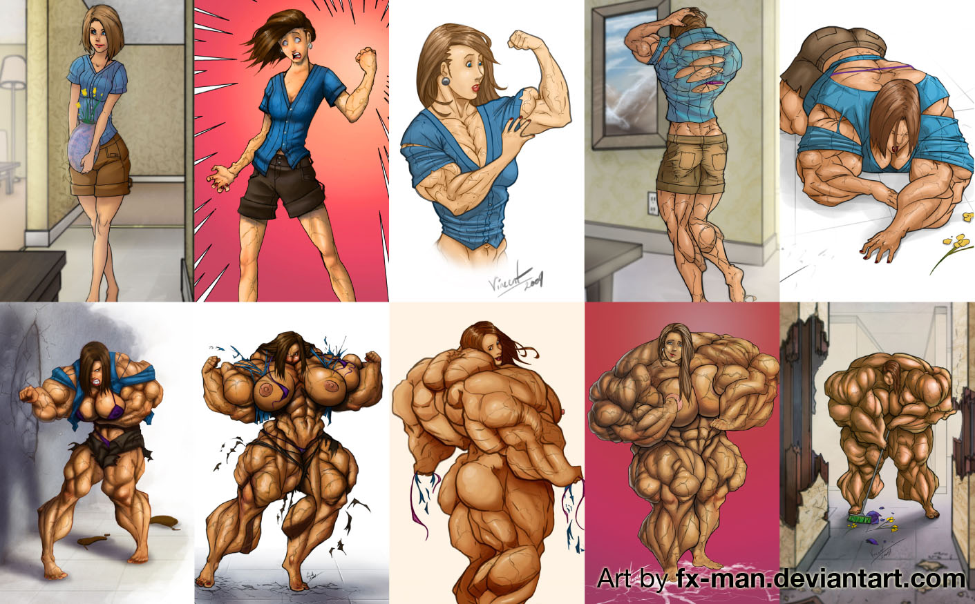 Female Muscle Growth Story Is The Literary Form Of Fmg While