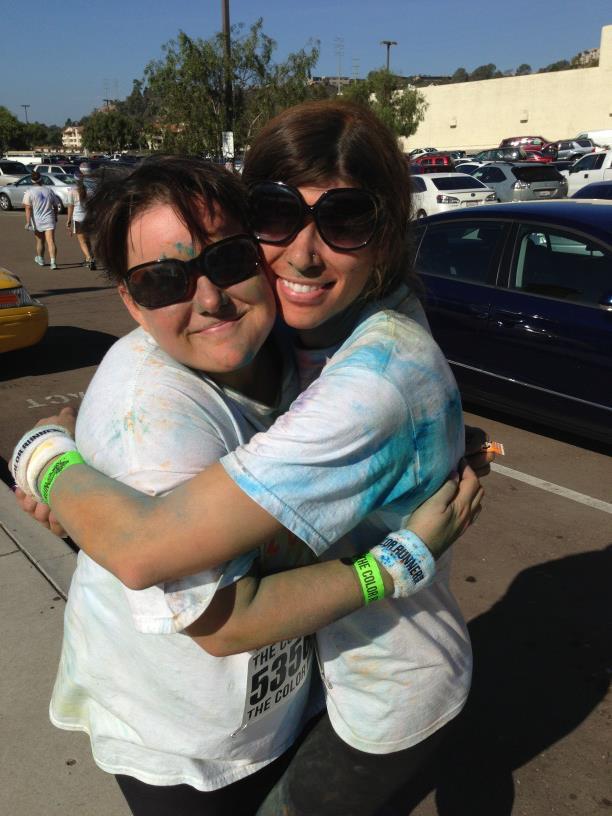 San Diego Color Run 2012