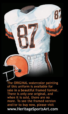 Cleveland Browns 1984 uniform