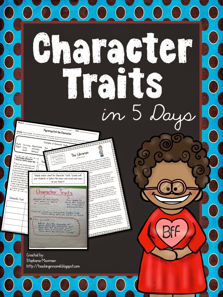 http://www.teacherspayteachers.com/Product/Character-Traits-in-5-Days-Lessons-to-Teach-Character-Traits-1493881