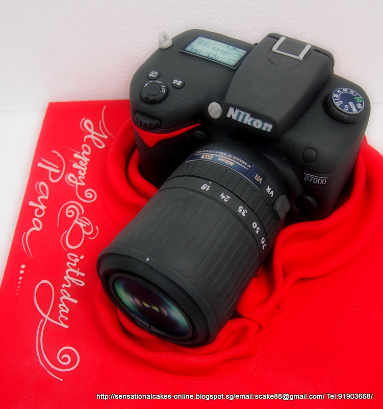 The Sensational Cakes Nikon Dslr Canon Dslr Camera Cake