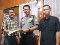 Silaturrahmi HTI dengan Kapolsek Biringkanaya Makassar