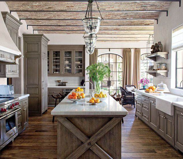 Cerused Oak Kitchen Cabinets Gorgeous Cerused Oak Kitchen: Peonies And Orange Blossoms: Cerused French Oak Kitchens