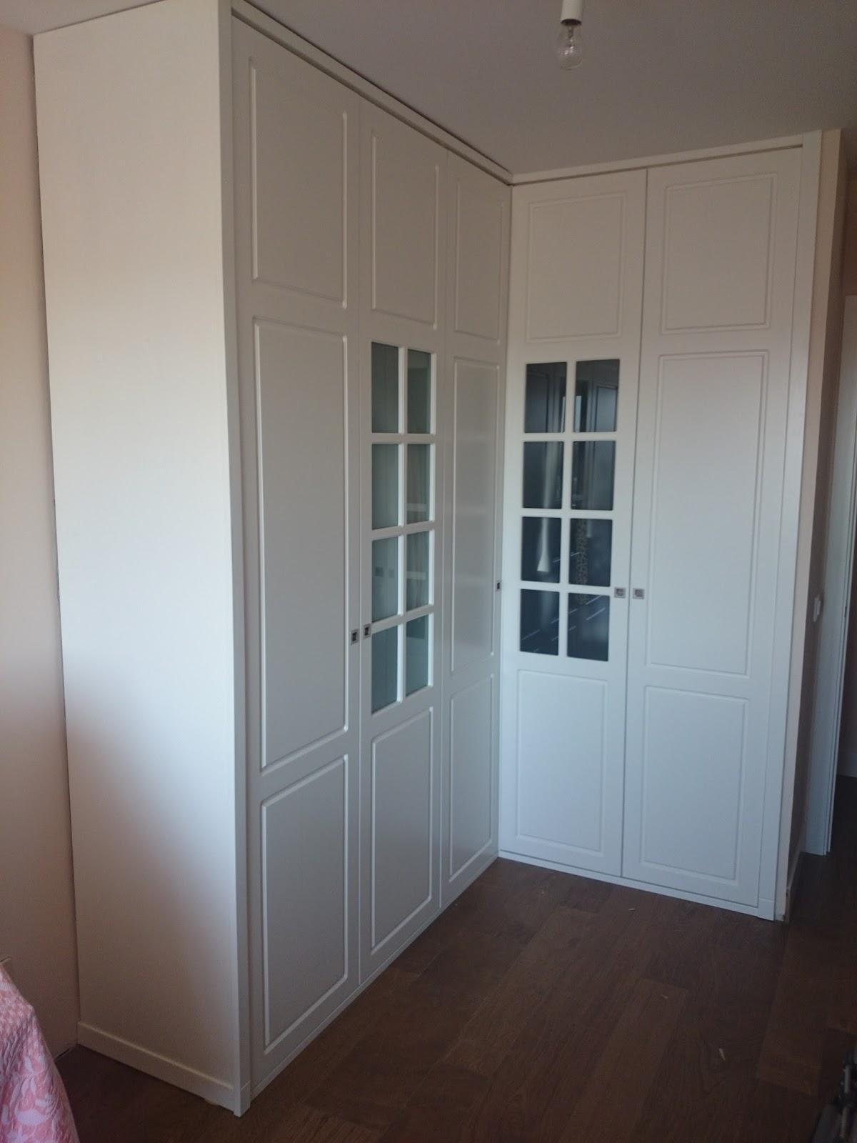 Muebles a medida armario en esquina con puertas - Armario de esquina ...