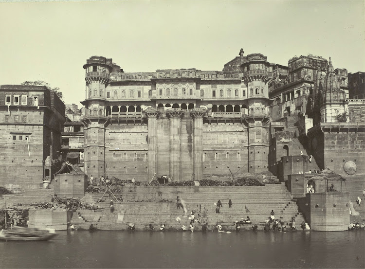 Munshi Ghat - Benares (Varanasi) 1905