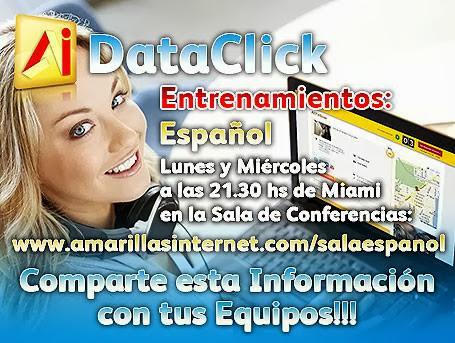 Entrenamientos Dataclick Amarillas Internet
