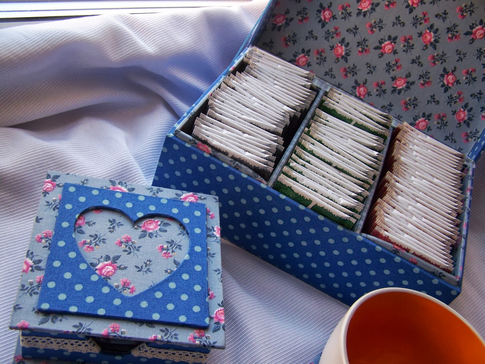 Коробка для чая в пакетиках своими руками 88