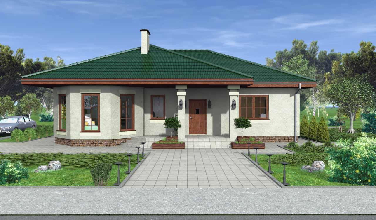 Дачный домик своими руками - Идеи, Проекты (55 фото)