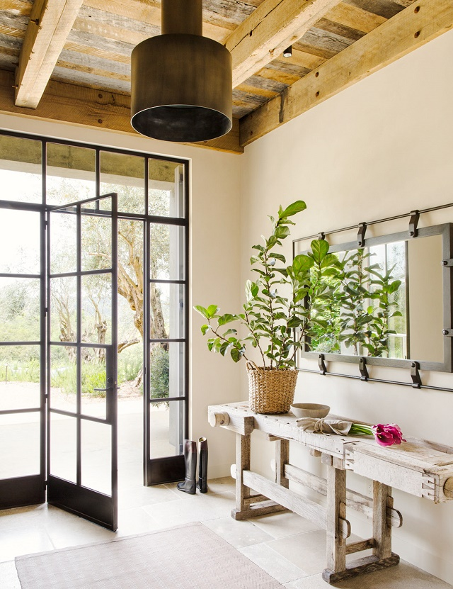 Mix and chic: home tour  a streamlined, modern rustic california home!