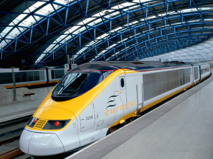 Fastest Train - Eurostar, UK