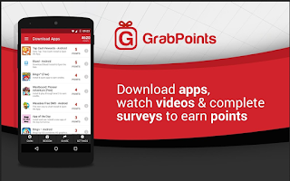 aplikasi android penghasil uang grabpoints