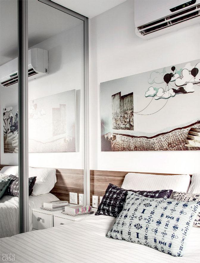 08 quitinete de 26 m2 aposta em moveis planejados e integracao de ambiente Boas ideias para apartamento pequeno ou quitinete!