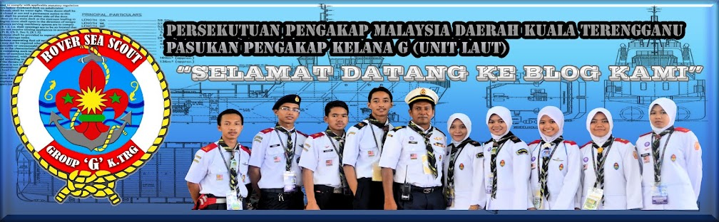 Pasukan Pengakap Kelana G (Unit Laut) Daerah Kuala Terengganu