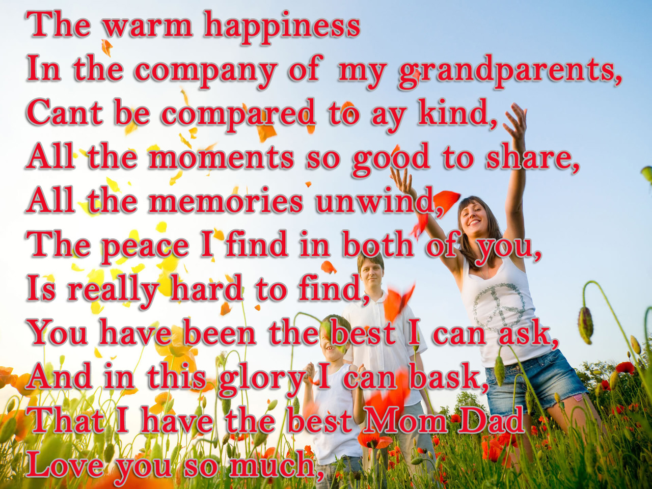 Best Warm Happiness Poems To Smile Joy Wallpapers