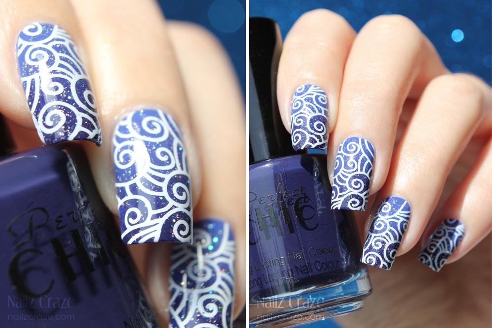The Beauty Buffs Royal Blue Nailz Craze