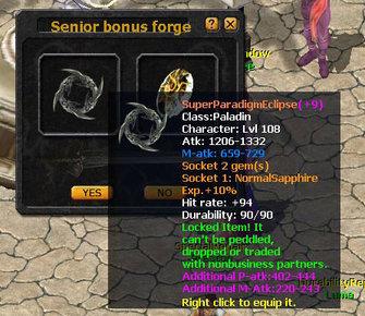 Eudemons Online High Bonus Forging